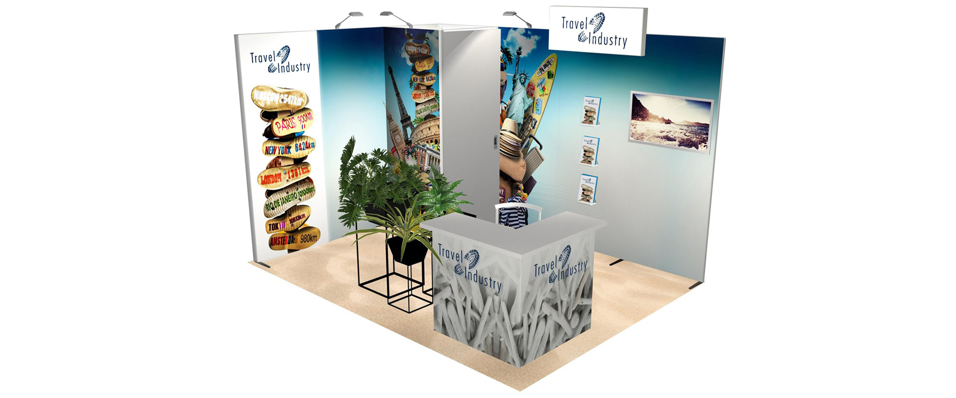 stands d'exposition